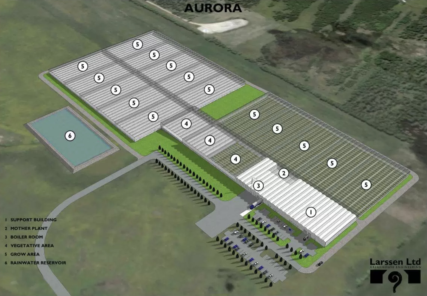 Aurora growhouse greenhouse plan