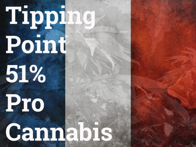 Tipping point France cannabis french weed flag smoking cannabis
